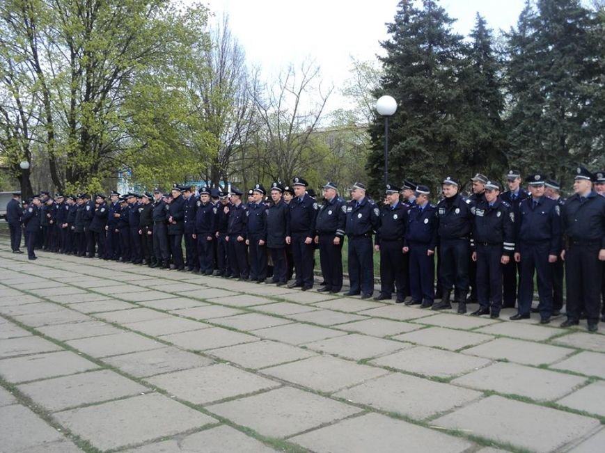 Краматорская милиция прошла инструктаж на площади, фото-2