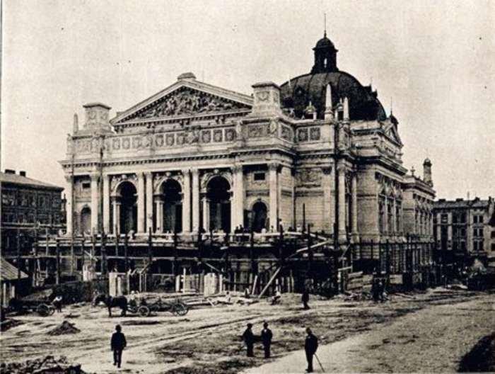 Як будували Львівську Оперу (РЕТРОФОТО) (фото) - фото 6
