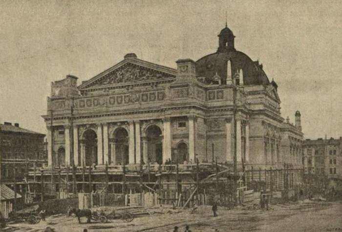 Як будували Львівську Оперу (РЕТРОФОТО) (фото) - фото 7