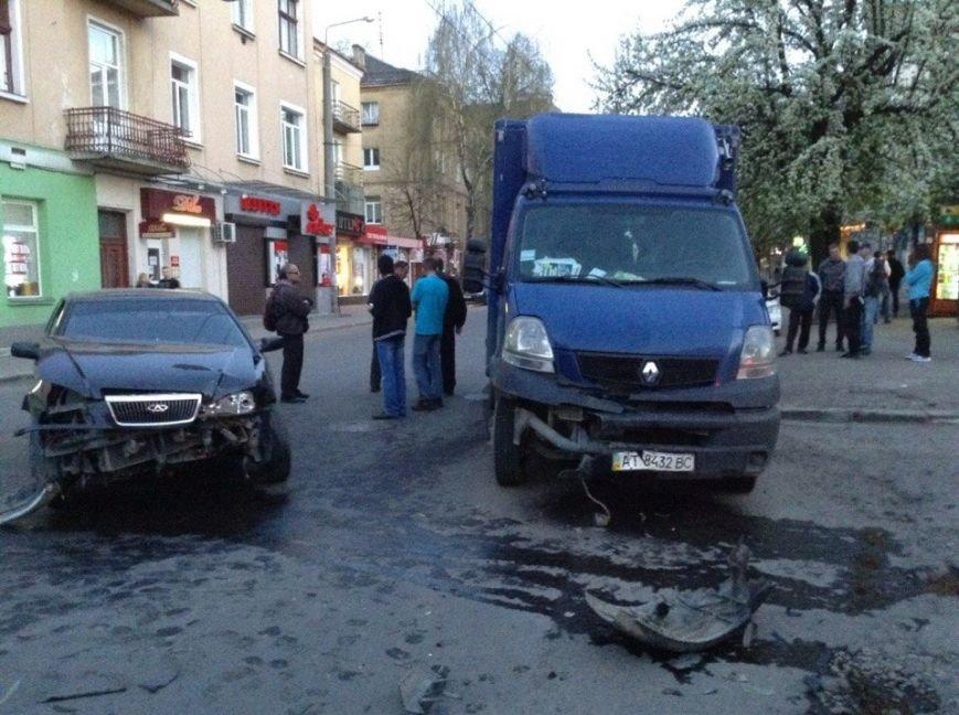 На вулиці Галицька розбилися дві машини, фото-1
