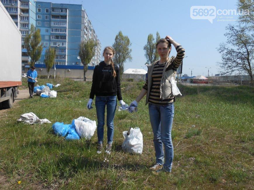 Днепродзержинцы очистили от мусора левобережный канал (фото) - фото 4