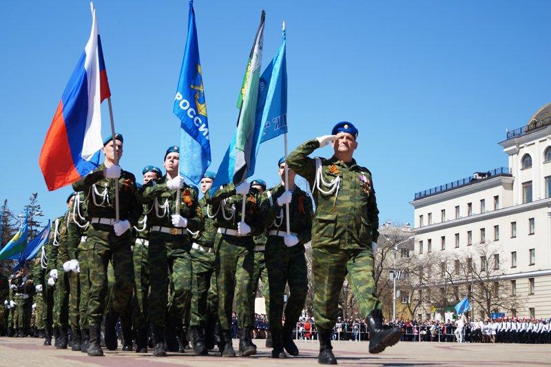 Белгородские кадеты прошли парадом по Соборной площади (фото) - фото 7