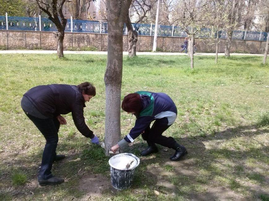 Днепровский район присоединился к акции «Сделаем Украину чистой!» (фото) (фото) - фото 1