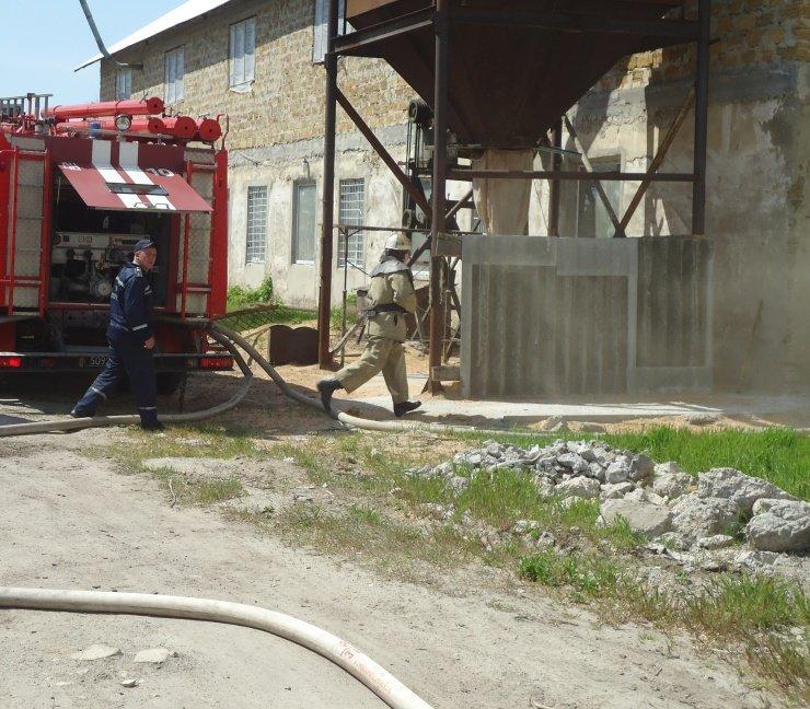 Вчера в Херсоне сгорел склад лесоматериалов (фото) (фото) - фото 2