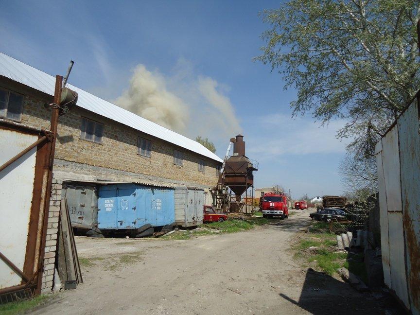 Вчера в Херсоне сгорел склад лесоматериалов (фото) (фото) - фото 6
