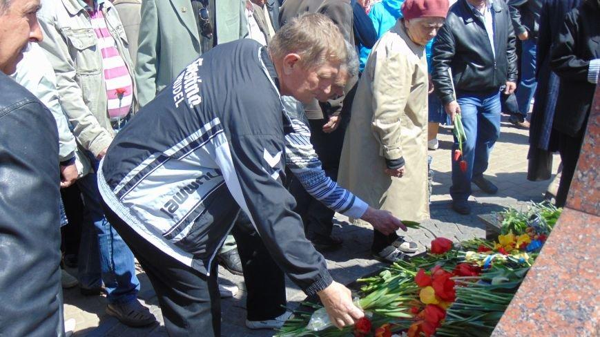 Мариупольцы почтили память жертв Чернобыльской трагедии (ФОТО) (фото) - фото 1