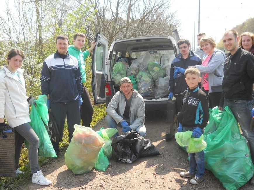 Волонтери зробили Квасилів чистим