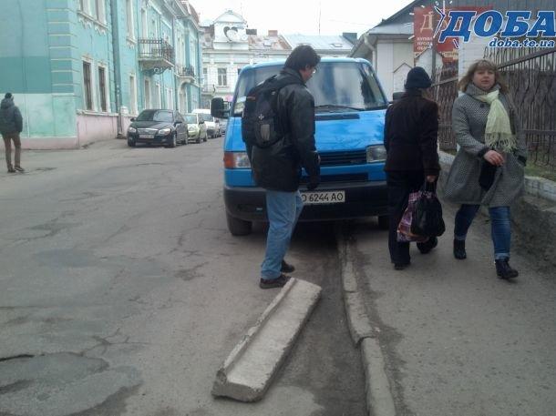 ДАІ не реагує на нахабних водіїв у Тернополі (фото) (фото) - фото 1