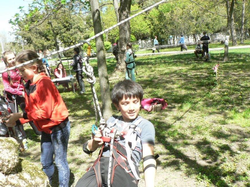 Вчера в городском парке прошло мероприятие «Туризм доступен всем!» (фото) - фото 1