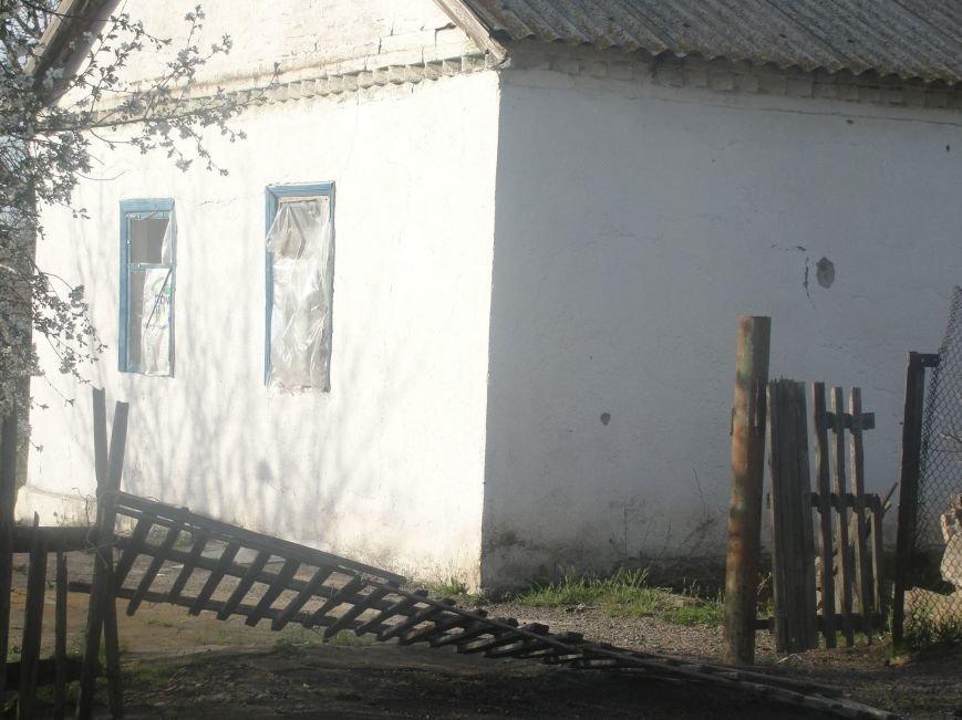 Под Мариуполем жители Гранитного пережили обстрел из «Града», но не хотят покидать поселок (ФОТО), фото-9