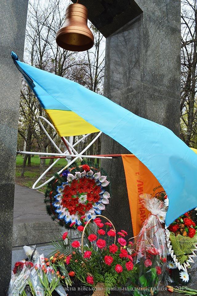 На Луганщине помянули ликвидаторов (ФОТО) (фото) - фото 1