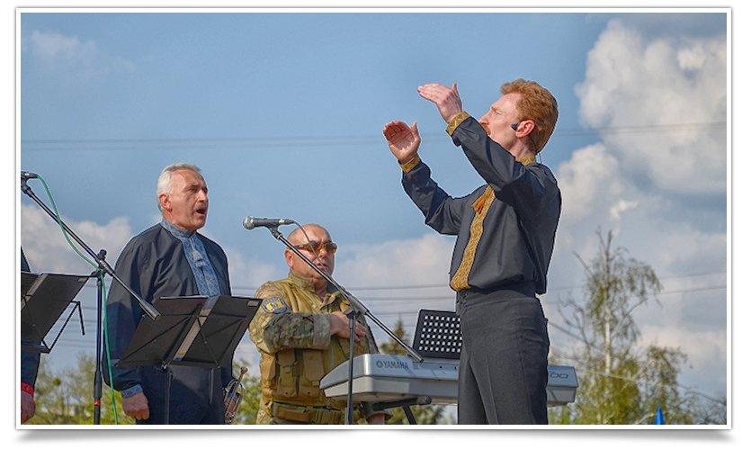 В Славянске снова прошло Вече, весеннее и яркое, с музыкой и стихами(фотофакт) (фото) - фото 10