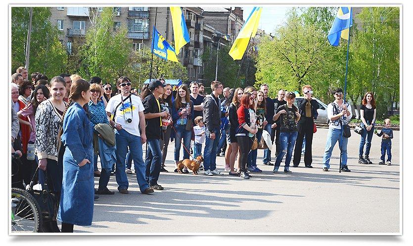 В Славянске снова прошло Вече, весеннее и яркое, с музыкой и стихами(фотофакт) (фото) - фото 8