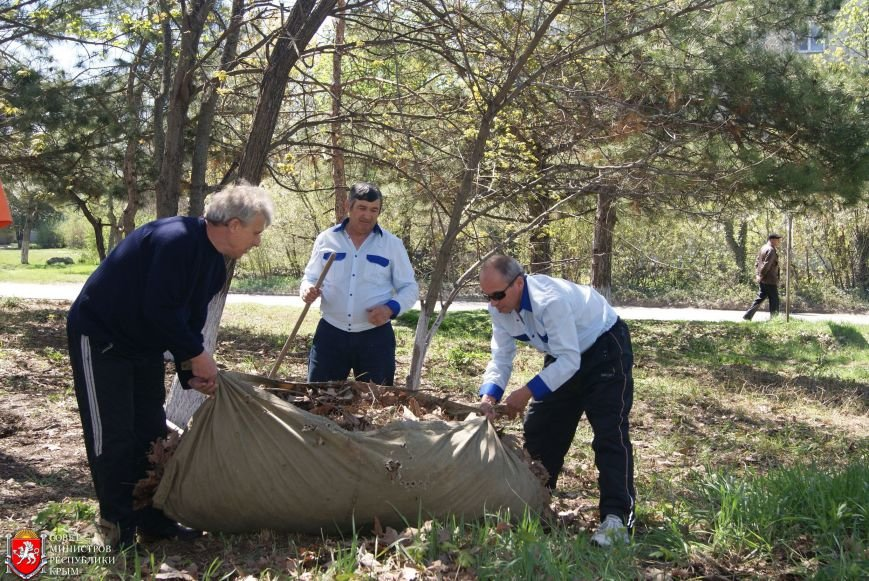 Аксенов высадил деревья в симферопольском парке и планирует подобные акции проводить каждые выходные (ФОТО) (фото) - фото 8