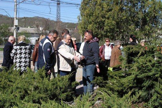 Аксенов высадил деревья в симферопольском парке и планирует подобные акции проводить каждые выходные (ФОТО) (фото) - фото 11