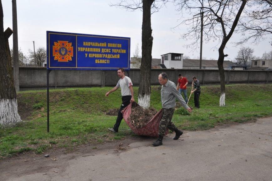 Кіровоградська область: рятувальники підтримали та приєдналися до проведення Всеукраїнського Дня довкілля, фото-2