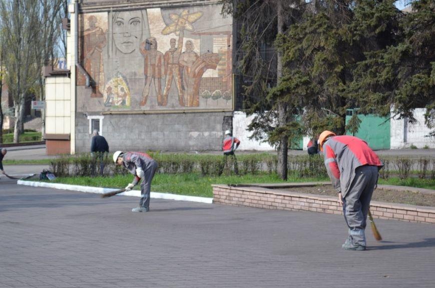 Металлурги Макеевки и Енакиево приняли участие в акции «Чистый город» (фото) - фото 7