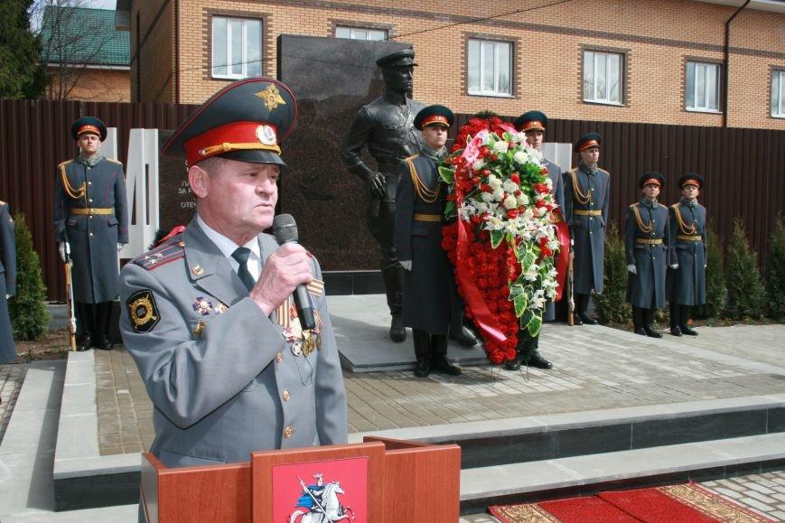 В новой Москве в Троицке был установлен памятник сотрудникам Московской милиции погибшим в годы Великой Отечественной войны, фото-3