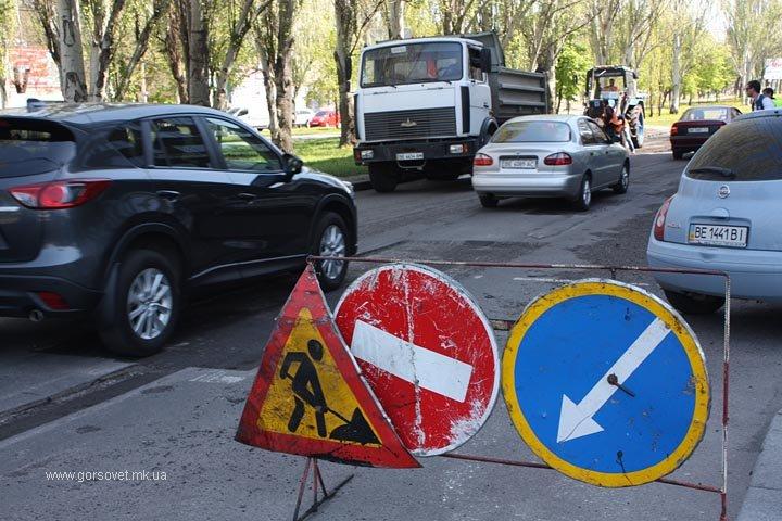 Ремонт проспекта Ленина в Николаеве пообещали завершить до конца недели (фото) - фото 6