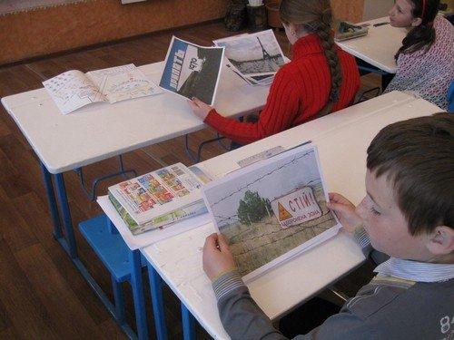 В школах Авдеевки прошли воспитательные мероприятия, посвященные 29-й годовщине катастрофы на Чернобыльской АЭС (ФОТО), фото-1