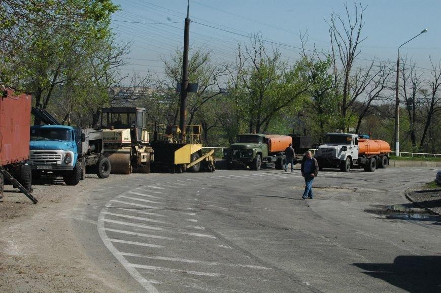В Запорожье начался дорожный ремонт на мосту Преображенского (ФОТОРЕПОРТАЖ), фото-7