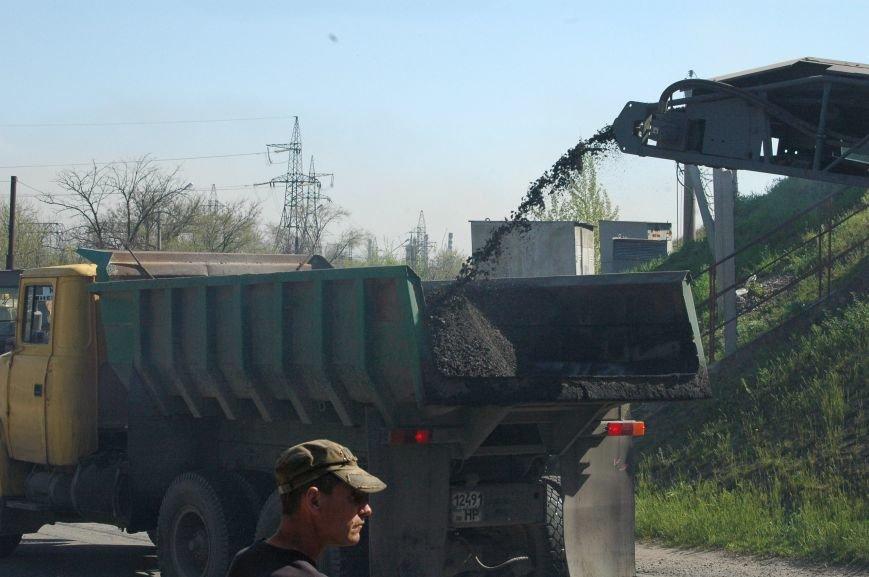В Запорожье начался дорожный ремонт на мосту Преображенского (ФОТОРЕПОРТАЖ), фото-8