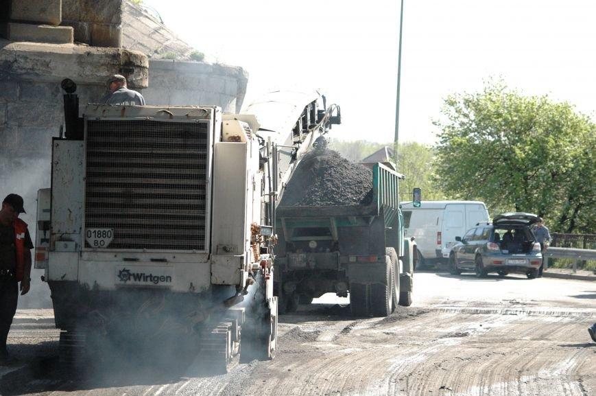 В Запорожье начался дорожный ремонт на мосту Преображенского (ФОТОРЕПОРТАЖ), фото-2
