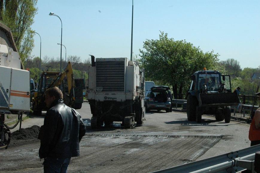 В Запорожье начался дорожный ремонт на мосту Преображенского (ФОТОРЕПОРТАЖ), фото-4