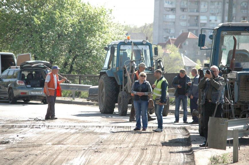 В Запорожье начался дорожный ремонт на мосту Преображенского (ФОТОРЕПОРТАЖ), фото-9