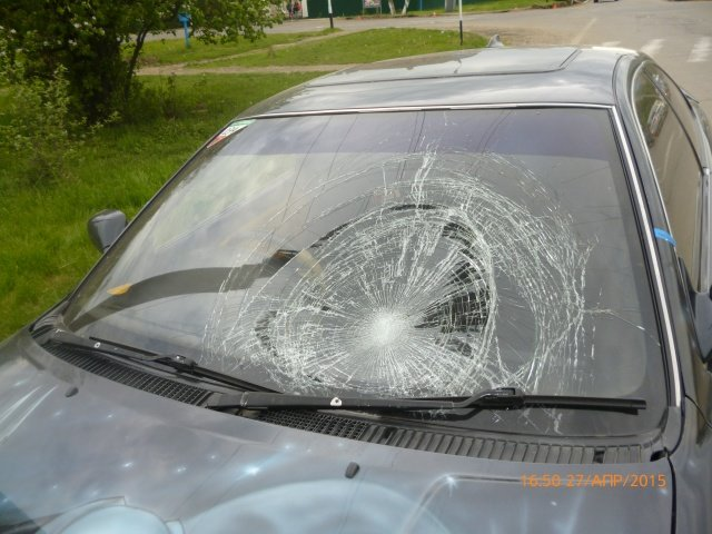 повреждение Тойоты 2