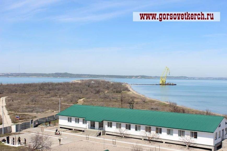 На острове Тузла готовятся к строительству Керченского моста (ФОТО) (фото) - фото 1