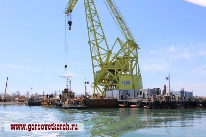 На острове Тузла готовятся к строительству Керченского моста (ФОТО) (фото) - фото 2