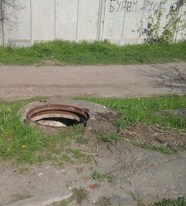 Только за одну неделю коммунальщики обнаружили 74 незакрытых колодца за неделю (ФОТО) (фото) - фото 2