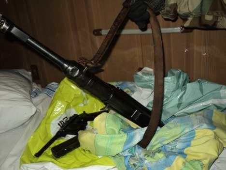 В поезде «Николаев-Москва» таможенники нашли бесхозное оружие (ФОТО) (фото) - фото 1