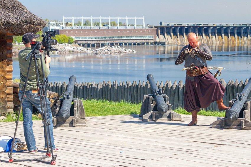 На Хортице кипит работа над фильмом телеканала BBC (ФОТО) (фото) - фото 1