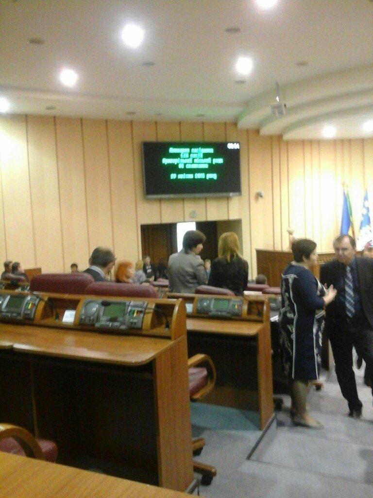 В Кривом Роге началась сессия городского совета (ФОТО) (фото) - фото 1