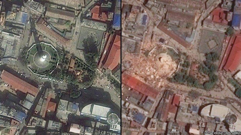Землетрус у Непалі: до і після (фото) - фото 3
