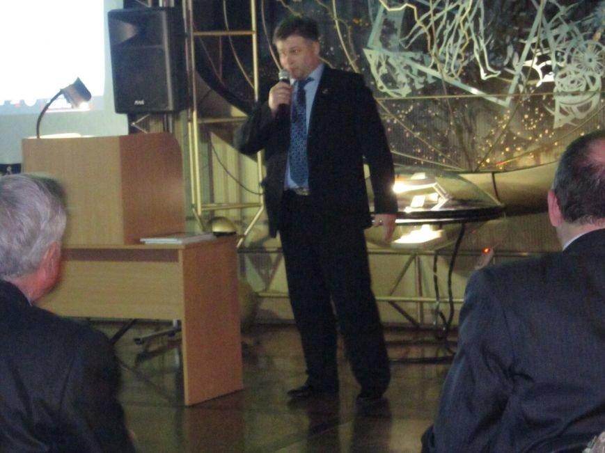 У Житомирі відбулась презентація проекту «Космос починається на Землі» (фото) - фото 1