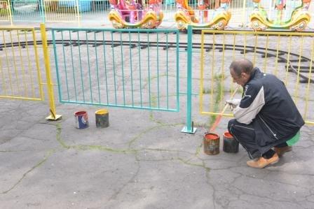 Парк им. Вознесенского преображается перед майскими праздниками, фото-4