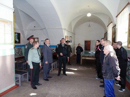 Відвідування виправної колонії владою (ФОТО) (фото) - фото 4