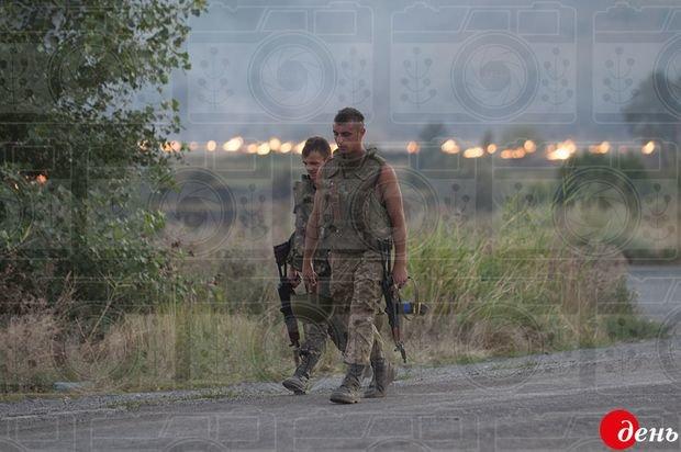 Україна у вогні. Фото Євгенія Малолєтки