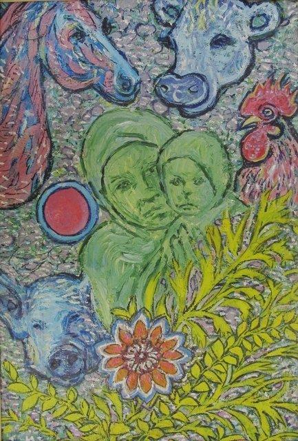 У Кіровограді відкрито виставку творів Надії Падурської «На своїх полотнах я вільна, як Бог…», фото-2