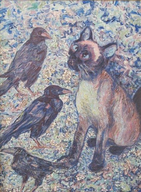 У Кіровограді відкрито виставку творів Надії Падурської «На своїх полотнах я вільна, як Бог…», фото-4