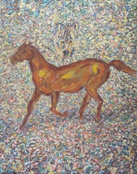 У Кіровограді відкрито виставку творів Надії Падурської «На своїх полотнах я вільна, як Бог…», фото-3