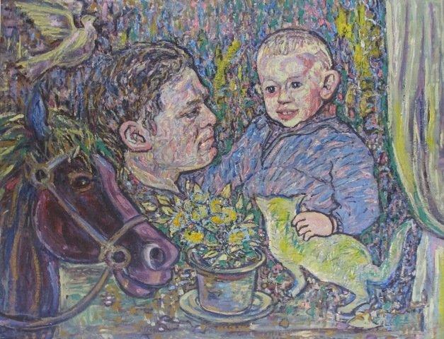 У Кіровограді відкрито виставку творів Надії Падурської «На своїх полотнах я вільна, як Бог…», фото-1