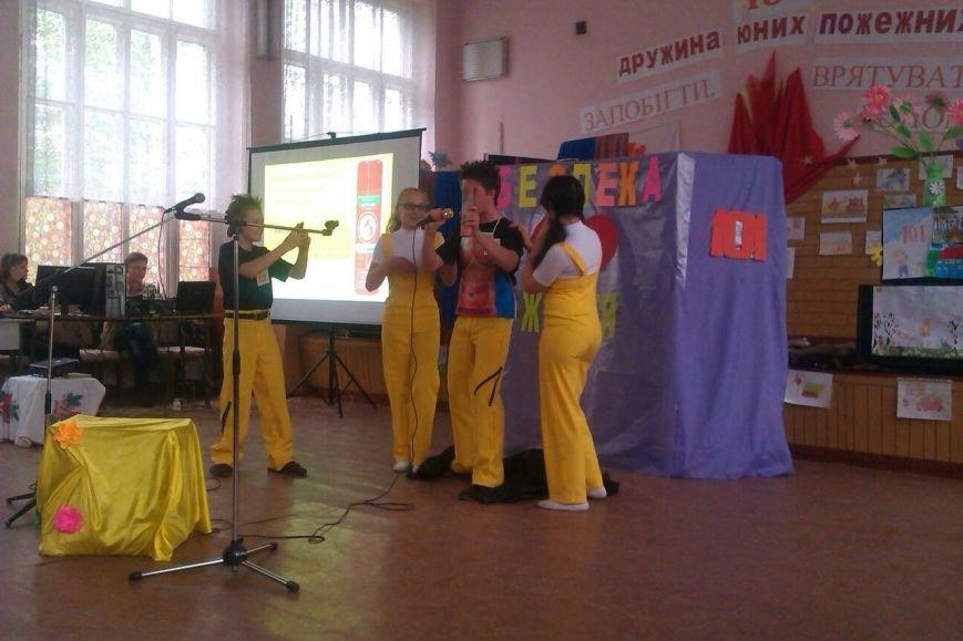 В Днепродзержинске прошел городской этап Всеукраинского фестиваля дружин юных пожарных (фото) - фото 12