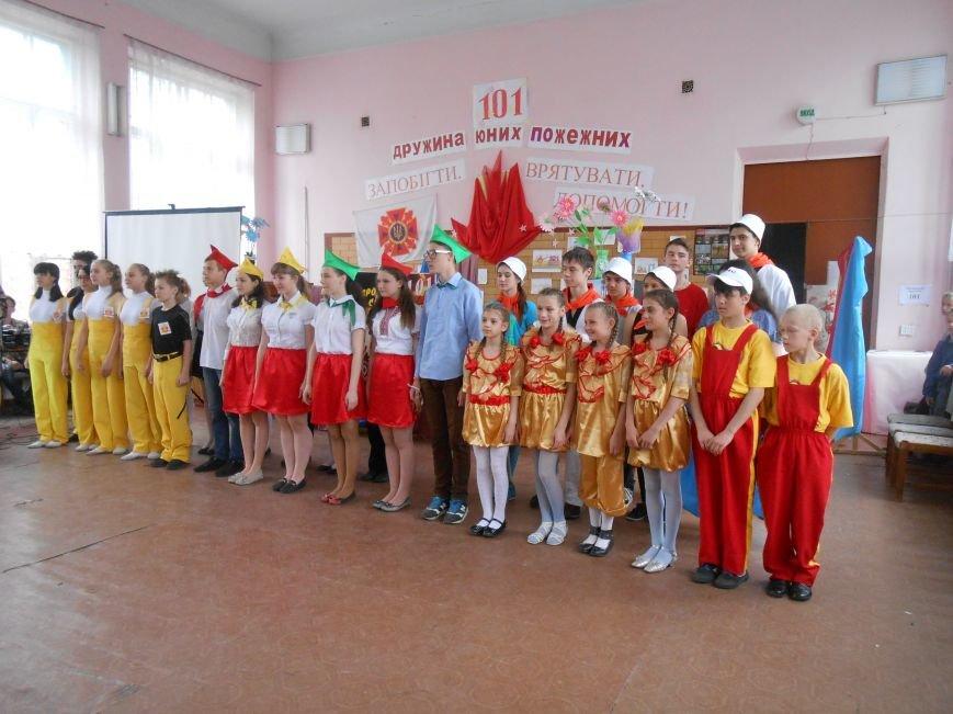 В Днепродзержинске прошел городской этап Всеукраинского фестиваля дружин юных пожарных (фото) - фото 3