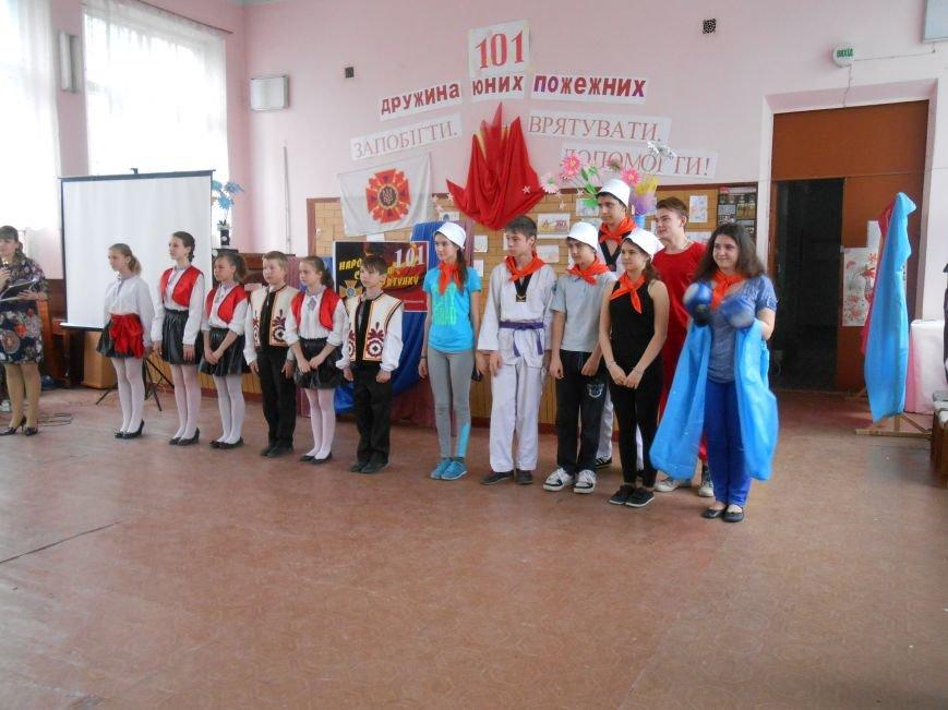 В Днепродзержинске прошел городской этап Всеукраинского фестиваля дружин юных пожарных (фото) - фото 2
