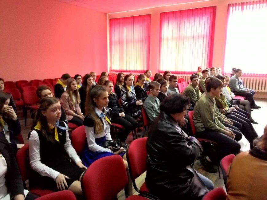В днепродзержинском лицее НИТ прошла встреча с десантниками 25-й бригады, фото-2