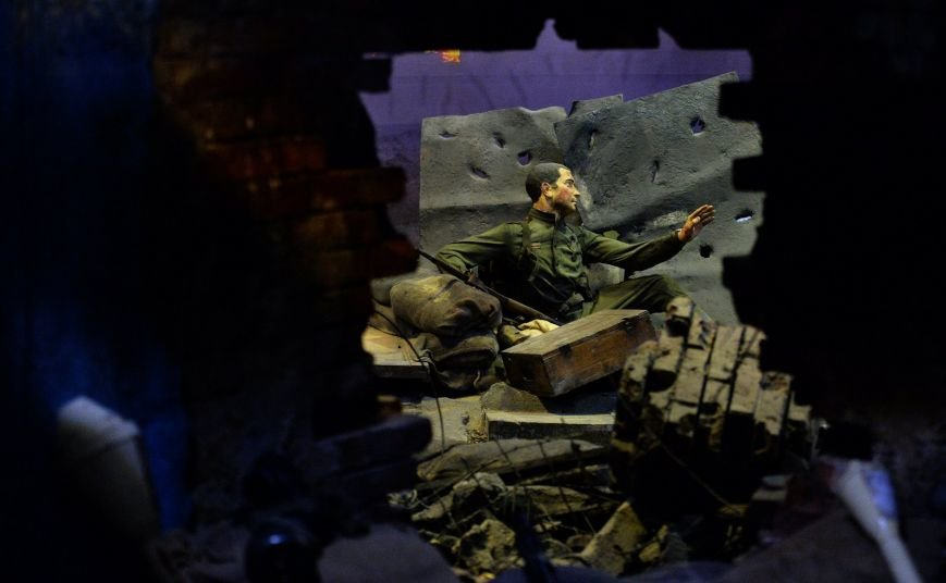 Владимир Путин посетил в Петербурге выставку «Битва за Берлин» (фото) - фото 1